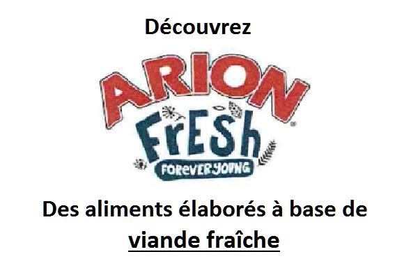 Nouvelle gamme Arion !