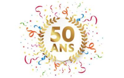 L'entreprise à 50 ans !
